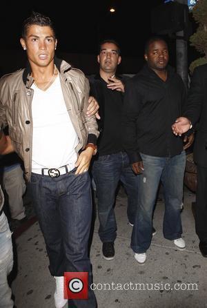 Cristiano Ronaldo at Villa night club Los Angeles, California - 09.06.09