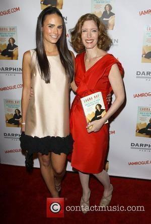 Jordana Brewster and Laura Day