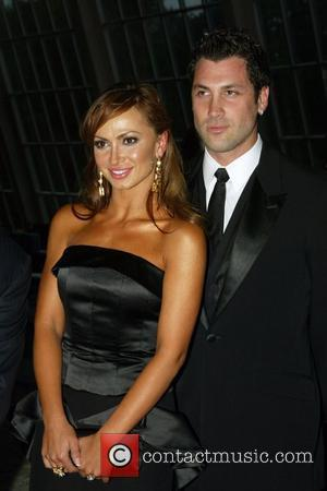 Karina Smirnoff and Maksim Chmerkovskiy