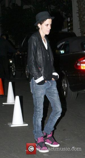 Samantha Ronson at club Voyour in West Hollywood Los Angeles, California - 25.11.09