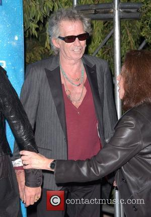 Keith Richards Spike TV's 2009 Scream Awards held at the Greek Theatre - Arrivals Los Angeles, California - 17.10.09