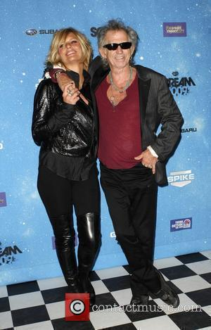 Keith Richards & friend Spike TV's 2009 Scream Awards held at the Greek Theatre - Arrivals Los Angeles, California -...