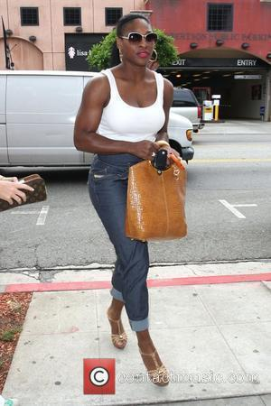 Serena Williams seen shopping for jeans at designer store True Religion on Robertson Blvd Los Angeles, California - 09.06.09