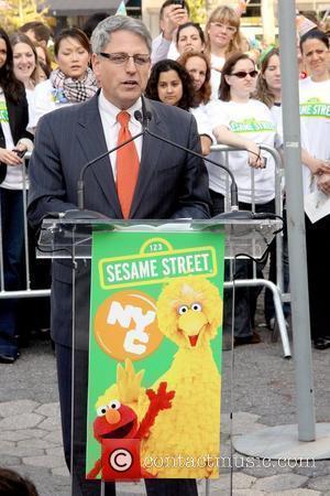 Gary E. Knell and Sesame Street