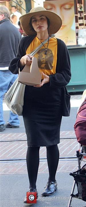 Shannyn Sossamon on her way to the movies in Hollywood Los Angeles, California - 07.11.09