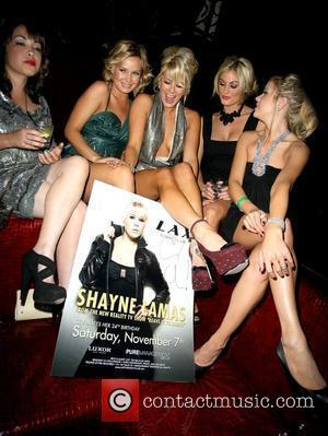 Shayne Lamas Celebrates 24th Birthday At LAX Nightclub At The Luxor Resort Hotel Casino Vegas, NV