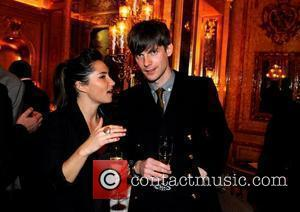 KT Tunstall & Nick Hodgson (Kaiser Chiefs)  at the music playback for Dame Shirley Bassey at the Ritz Casino...