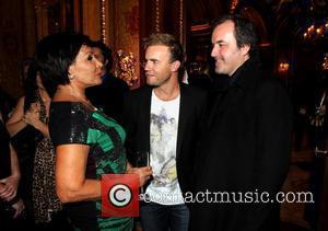 Dame Shirley Bassey, Gary Barlow & David Arnold  at the music playback for Dame Shirley Bassey at the Ritz...