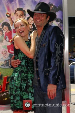 Robert Rodriguez and Leslie Mann