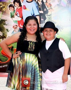 Raini Rodriguez and Rico Rodriguez World Premiere Of Warner Bros' 'Shorts' held at The Grauman's Chinese Theatre - Arrivals Los...