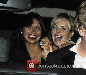 Amanda Holden leaves Simon Cowell's birthday party at 4.00am in high spirits London, England - 03.10.09