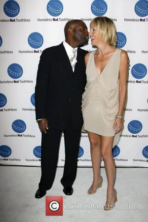 Antwone Fisher and Sharon Stone