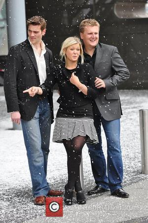 Adam Cooper, Suzanne Shaw and Aled Jones