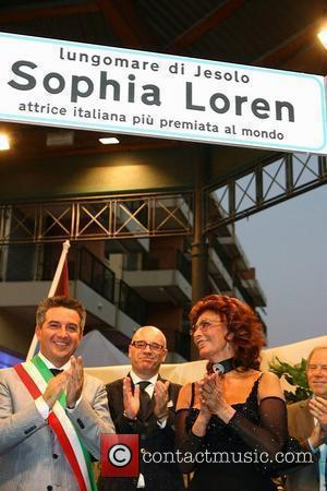 * LOREN DELIGHTED WITH VENICE STREET HONOUR Movie icon SOPHIA LOREN was recognised as one of Italy's most famous daughters...