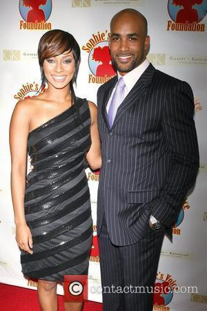 Keri Hilson and Boris Kodjoe