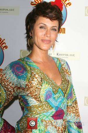 Nicole Ari Parker Cocktails with a Cause benefitting Sophie's Voice Foundation at the Hearst Tower New York City, USA -...