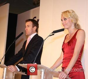 Camilla Dallerup and Anton Du Beke Sparks Charity Fashion Show held at the Marriott Hotel London, England - 01.10.09
