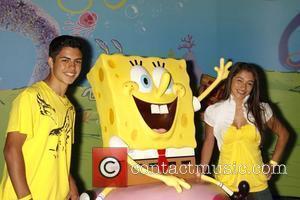David Castro and Spongebob Squarepants