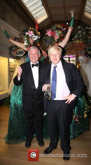 Christopher Biggins and Boris Johnson