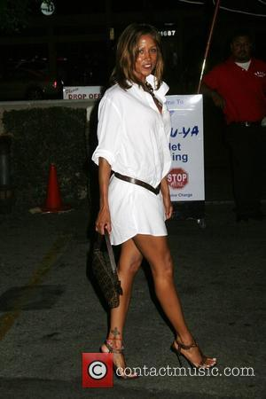 Stacey Dash outside Katsuya restaurant in Studio City Los Angeles, California - 31.08.09