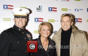 Sam Champion and guests 'Stand Up for Heroes: A Benefit for the Bob Woodruff Foundation' held at Town Hall -...