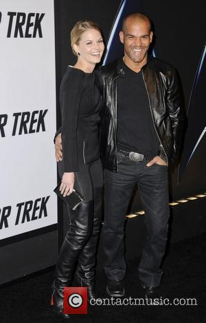 Jennifer Morrison and Amaury Nolasco  Star Trek DVD release party held at Griffith Observatory  Los Angeles, California -...