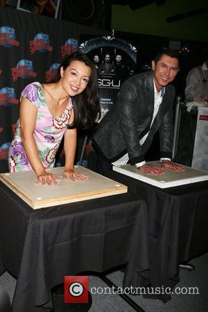 Ming-na and Lou Diamond Phillips