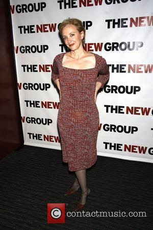 J. Smith-Cameron The cast party for the Off-Broadway play 'The Starry Messenger' held at Montenapo Restaurant. New York City, USA...