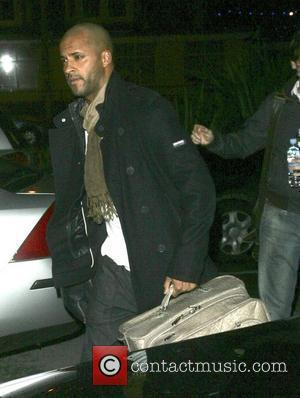 Ricky Whittle arrives at his hotel after rehearsing for 'Strictly Come Dancing' Blackpool, England - 06.11.09
