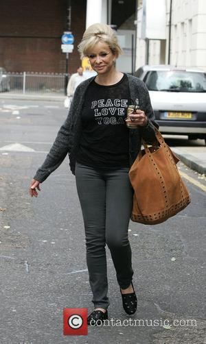 Jo Wood arrives at a dance studio to rehearse for the new series of Strictly Come Dancing London, England -...