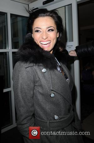 Flavia Cacace arrives back at her hotel after attending Saturday nights 'Strictly Come Dancing' show Blackpool, England - 07.11.09