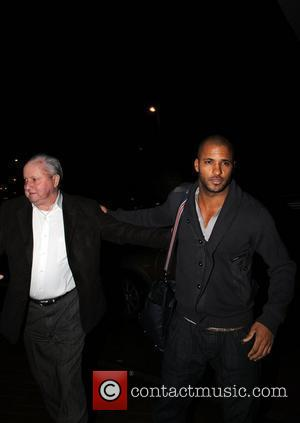 Ricky Whittle arrives back at his hotel after attending Saturday nights 'Strictly Come Dancing' show Blackpool, England - 07.11.09