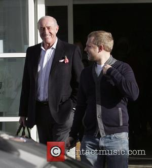 Len Goodman leaves his hotel to head to rehearsals for 'Strictly Come Dancing' Blackpool, England - 07.11.09