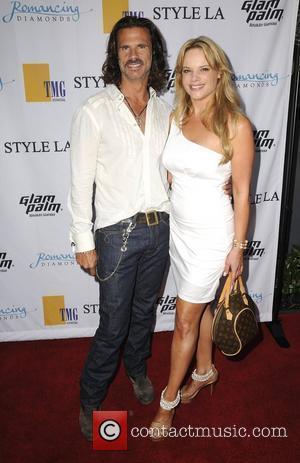 Lorenzo Lamas and Christine Lamas The Style L.A. Swim & Resort Runway Fashion Show at the Viceroy Hotel,  Santa...