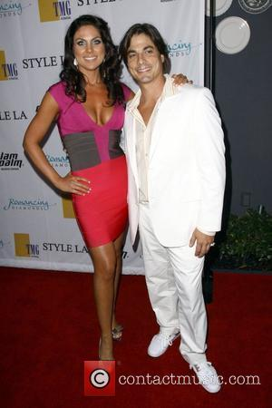 Nadia Bjorlin and Bryan Datillo The Style L.A. Swim & Resort Runway Fashion Show at the Viceroy Hotel Santa Monica,...