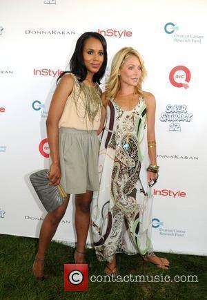 Kerry Washington and Kelly Ripa Super Saturday 12 at Nova's Ark Project  Water Mill, New York - 01.08.09