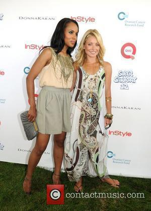Kerry Washington and Kelly Ripa