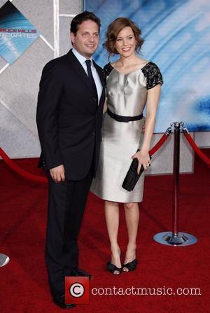 Elizabeth Banks and Max Handelman
