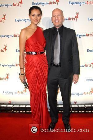 Emma Heming and Bruce Willis Third annual Exploring The Arts benefit gala at Cipriani Wall Street - arrivals New York...