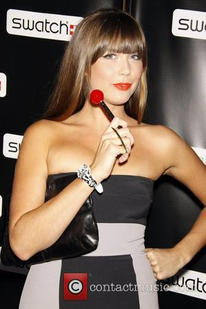 Erin Lucas Release party for the CreArt By Swatch Timepiece Collection designed by Billy the Artist - Arrivals New York...