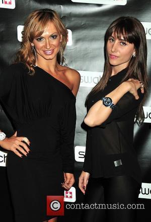 Karina Smirnoff and Rachel Heller