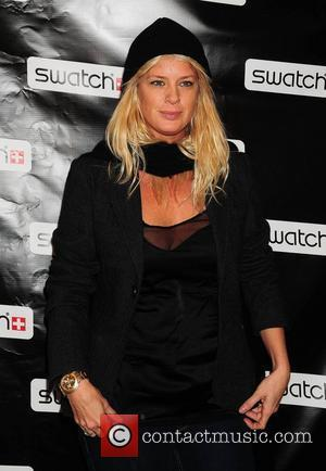 Rachel Hunter Swatch Times Square flagship store grand re-opening and 26 years of style celebration New York City, USA -...