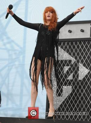 Florence Welch of Florence And The Machine performs live at T4 On The Beach Weston-Super-Mare, Somerset - 19.07.09
