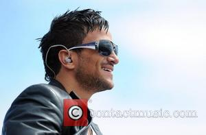 Peter Andre and T4 On The Beach