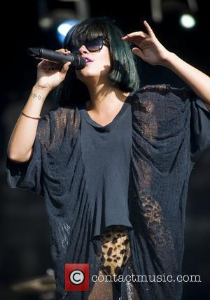 Lily Allen and T in the Park