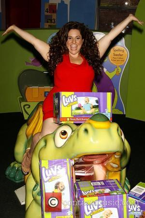 Marissa Jaret Winokur  LUVS Baby Diapers launch the 'Take A Stand' campaign held at the Children's Museum of Manhattan...