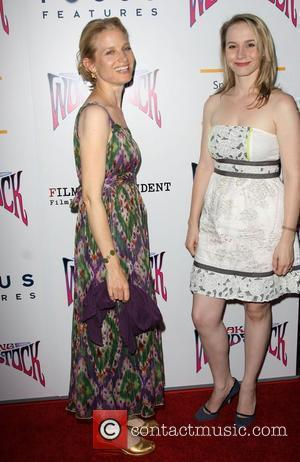 Bridget Fonda and Molly Elfman