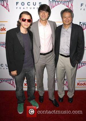 Emile Hirsch, Demetri Martin and Ang Lee