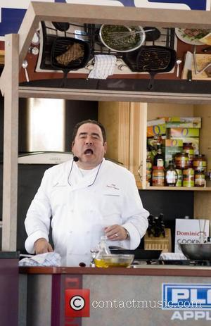 Dominick's Cooking Corner Hosts the Skill of Chef Emeril Lagasse  at the Taste of Chicago festival 2009  Chicago,...