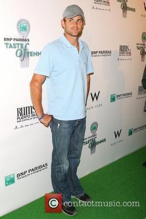Andy Roddick 10th annual BNP Paribas Taste of Tennis at the W hotel New York City, USA - 27.08.09